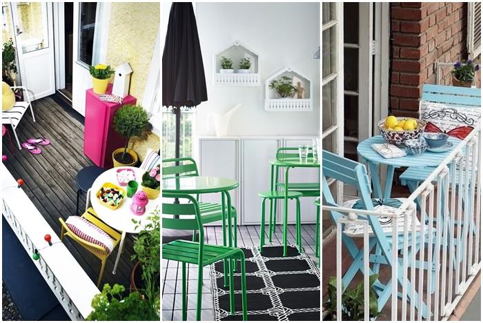 Trucos para poner a punto una terraza peque a en verano - Como decorar una terraza pequena ...
