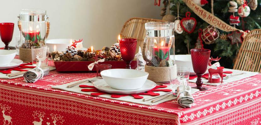 Navidad 3 estilos para decorar la mesa inmadrid remax - Decorar una mesa de navidad ...