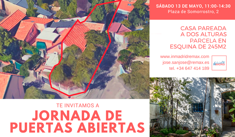 Open house casa con jard n en colonia de prosperidad for Colonia jardin madrid
